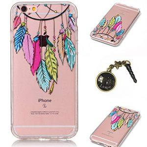 Carcasa-Crystal-Case-TPU-silicona-carcasa-Painted-PC-Case-Cover-Carcasa-Funda-De-Piel-Caso-de-Shell-cubierta-para-smartphone-Apple-iPhone-6-47-pulgadas-Polvo-Conector-0