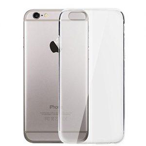Funda-Carcasa-Gel-Transparente-para-IPHONE-6-y-6S-Ultra-Fina-033mm-Silicona-TPU-de-Alta-Resistencia-y-Flexibilidad-Electrnica-Rey-0