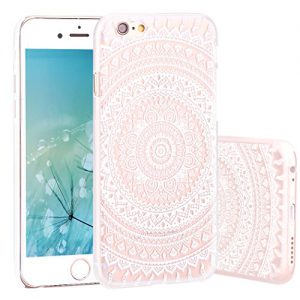 Funda-iPhone-6sZXK-CO-Carcasa-PC-para-iPhone-66s-6-47Diseo-Ornamento-Anti-Cadas-Plstica-Tapa-Trasera-Dura-Slim-Case-Semi-Transparente-Ttem-0