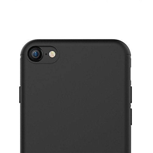 carcasa iphone 7 silicona negro