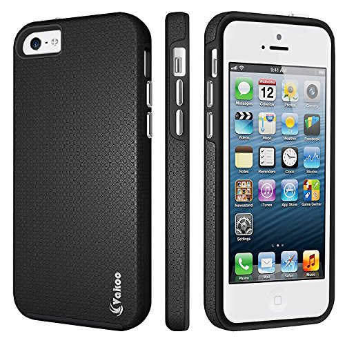 ddf3b2247ab iPhone 5 Funda, iPhone 5s Funda, Vakoo a Prueba de Choques Case ...